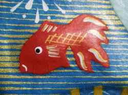 張り子リーバシブル壁飾り・金魚